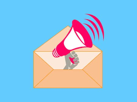 marketing presence email envelope megaphone | Highway & Heavy Parts