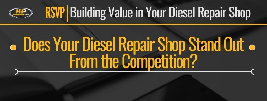 does your diesel repair shop stand out from the competition banner
