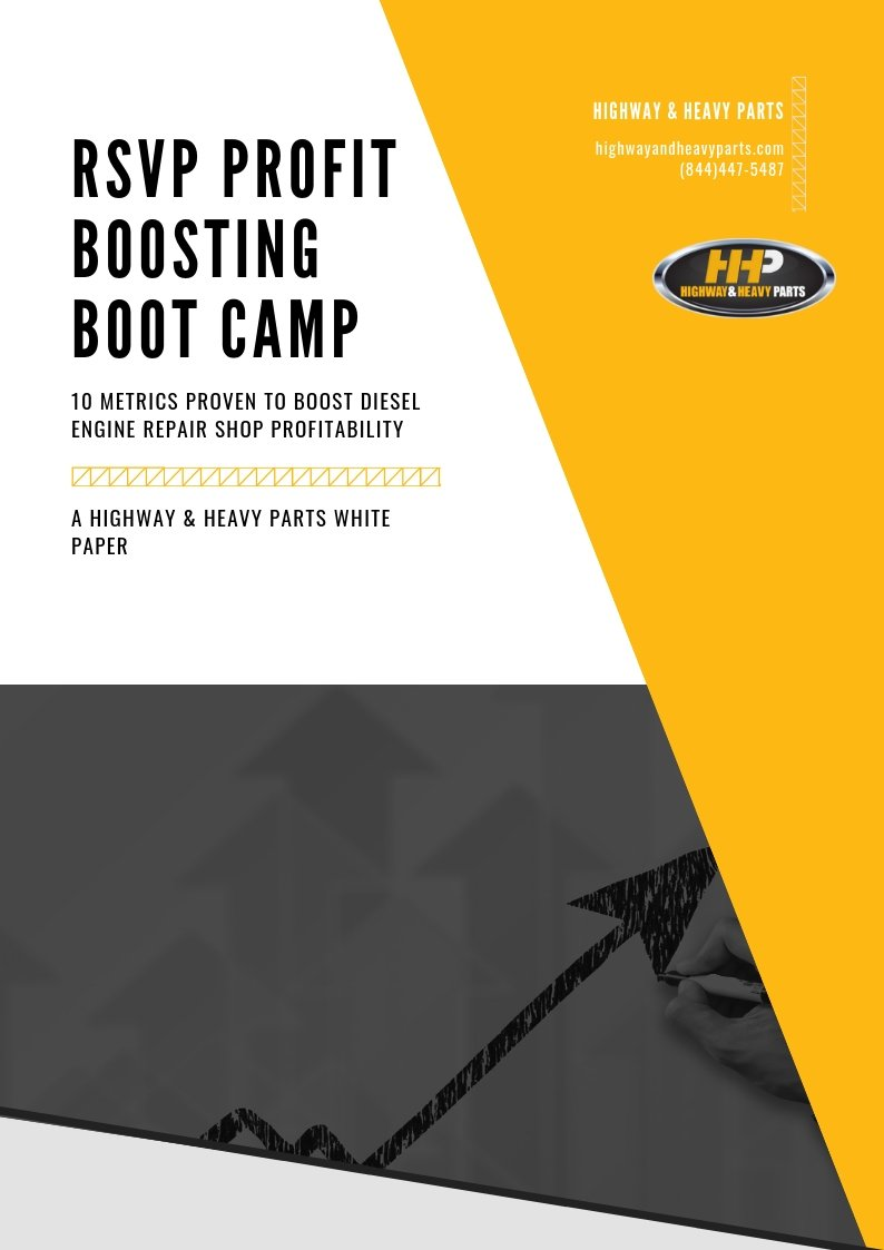 Profit Boosting Boot Camp White Paper | Highway & Heavy Parts