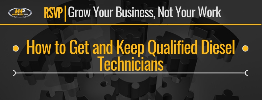 How to Get and Keep Qualified Diesel Technicians | Highway & Heavy Parts