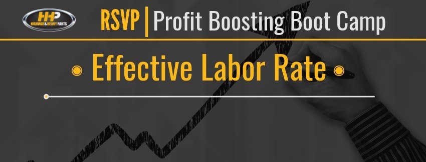Effective Labor Rate Banner | Highway and Heavy Parts