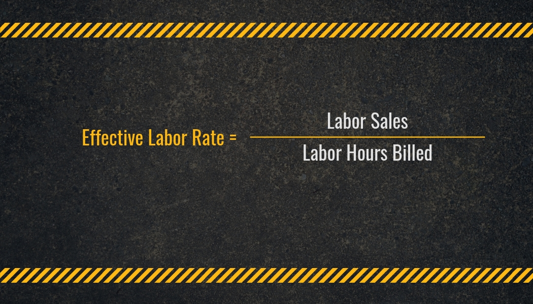 Effective Labor Rate Calculation | Highway and Heavy Parts