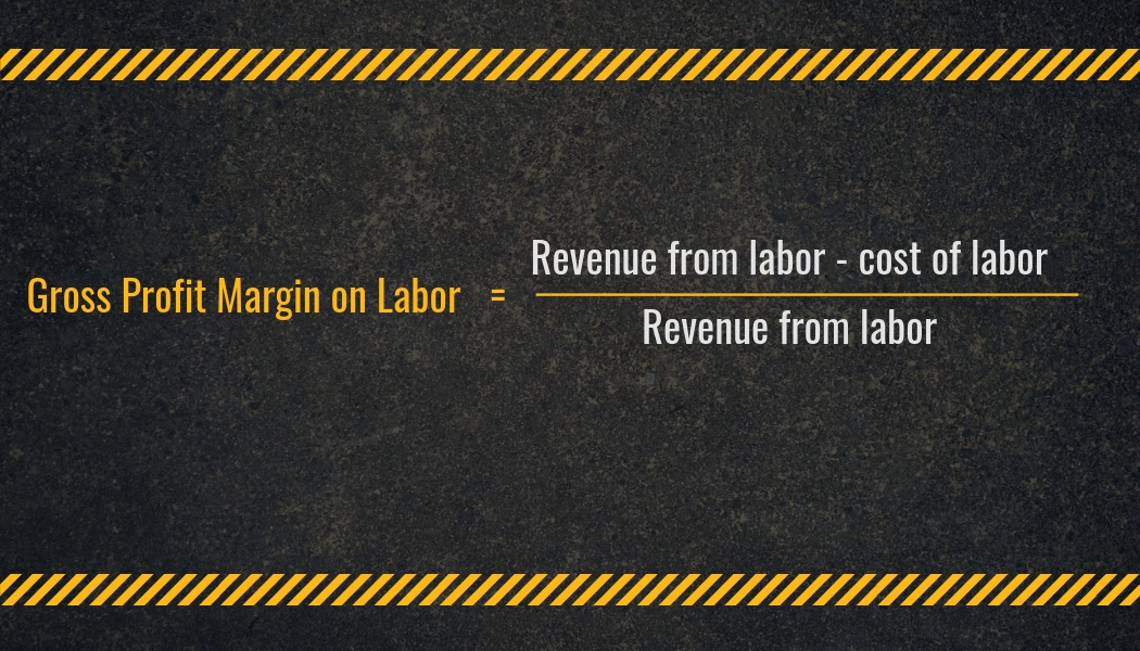 Gross Profit Margin on Labor Calculation | Highway and Heavy Parts