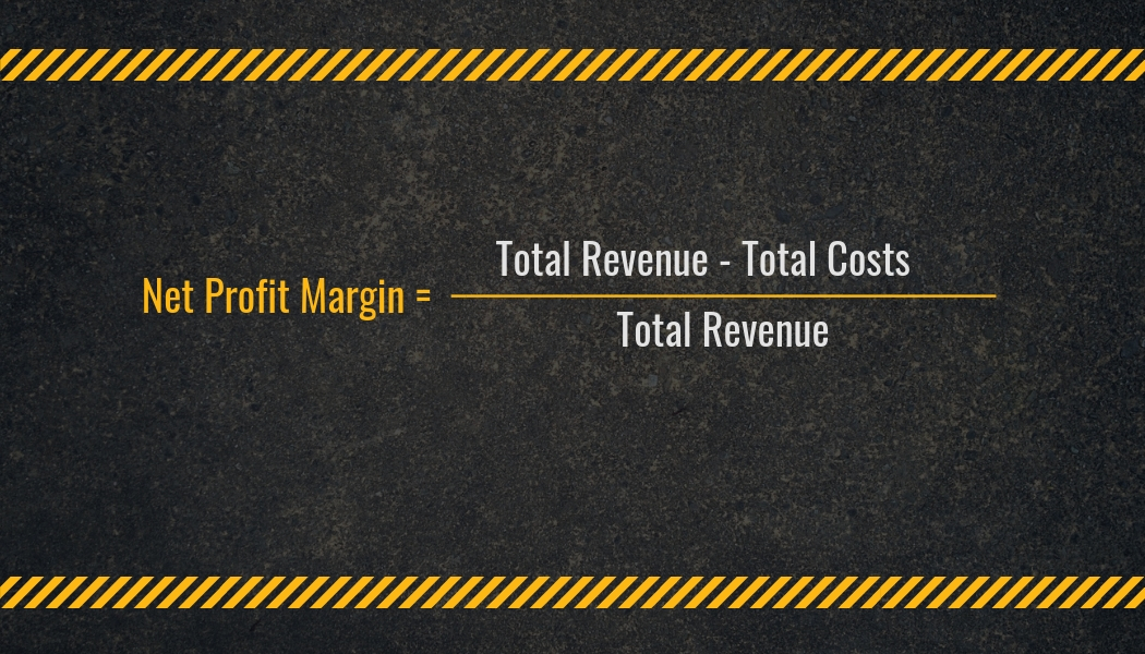 Net Profit Margin Calculation | Highway and Heavy Parts
