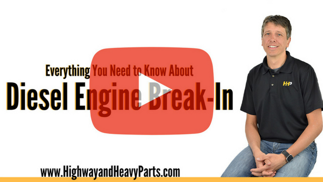Diesel Engine Break-In
