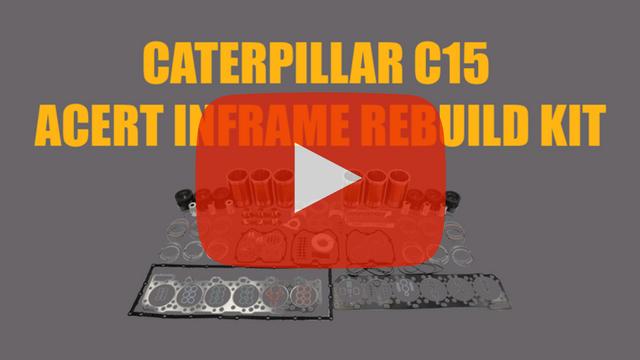 Caterpillar C-15 Acert Inframe Rebuild Kit