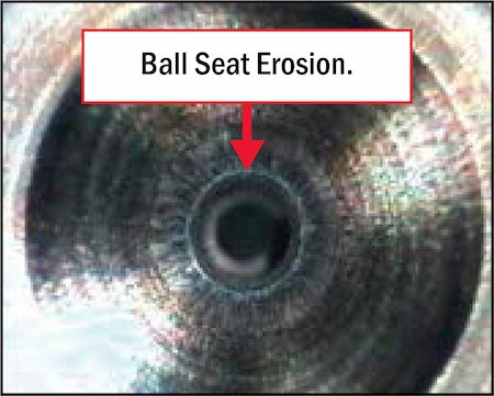 ball seat erosion graphic | Highway & Heavy Parts