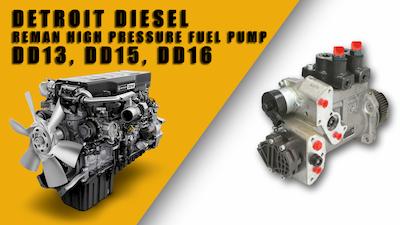 detroit diesel high pressure fuel pump dd13 dd15 dd16 | Highway & Heavy Parts