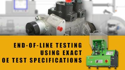 detroit diesel high pressure fuel pump end of line testing | Highway & Heavy Parts
