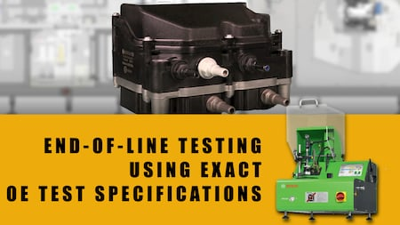 mack fuel system components end of line testing | Highway & Heavy Parts