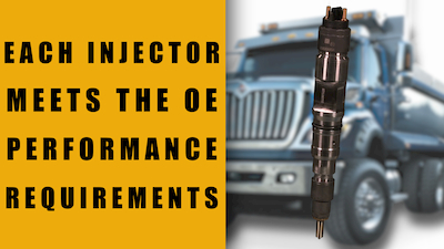 navistar maxxforce 11 common rail injector oe performance | Highway & Heavy Parts