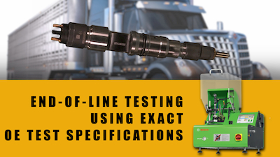 navistar maxxforce 11 common rail injector oe test specs | Highway & Heavy Parts