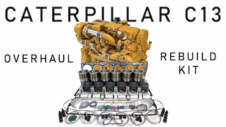caterpillar c13 overhaul rebuild kit diesel engine | Highway & Heavy Parts