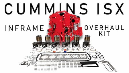 cummins isx inframe overhaul kit contents | Highway & Heavy Parts