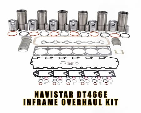navistar dt466e inframe overhaul kit rebuild kit | Highway & Heavy Parts