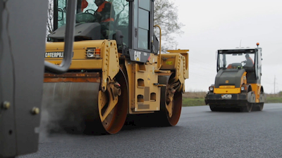 heavy equipment paving road | Highway & Heavy Parts