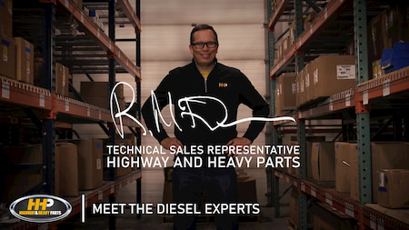 meet the experts at hhp rob mcdowell | Highway & Heavy Parts