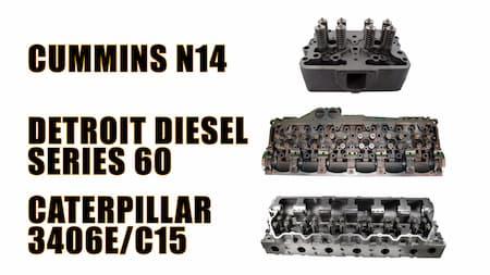 cummins detroit diesel and caterpillar cylinder headscylinder head intake valves diagram   Highway & Heavy Parts