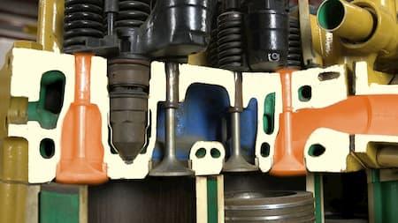 cylinder head exhaust valvescylinder head intake valves diagram   Highway & Heavy Parts