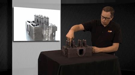 cylinder head fuel portscylinder head intake valves diagram   Highway & Heavy Parts