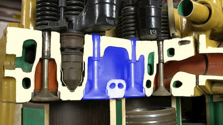 cylinder head intake portcylinder head intake valves diagram   Highway & Heavy Parts
