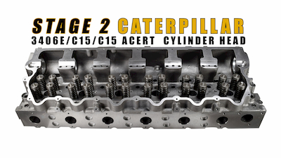 cat cylinder head stage 2 | Highway & Heavy Parts