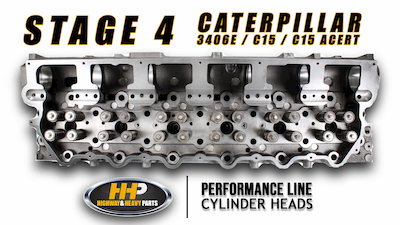 cat stage 4 cylinder head | Highway & Heavy Parts