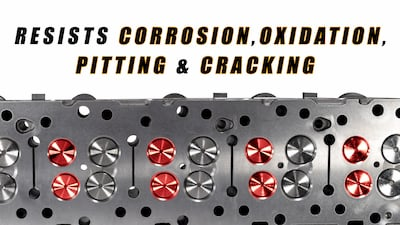 cylinder head for cat resists corrosion | Highway & Heavy Parts