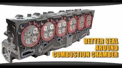fire rings better seal combustion chamber | Highway & Heavy Parts