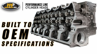 stage 3 cat head oem specs | Highway & Heavy Parts