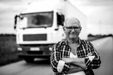 black and white diesel trucker | Highway & Heavy Parts