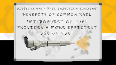 common rail injector benefits | Highway & Heavy Parts