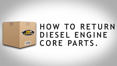 how to ship a core hhp box | Highway & Heavy Parts