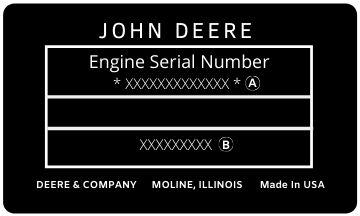 John Deere Diesel Engine Serial Number Diagram | Highway & Heavy Parts
