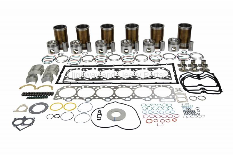 Rebuild Kit Components for Diesel Engine