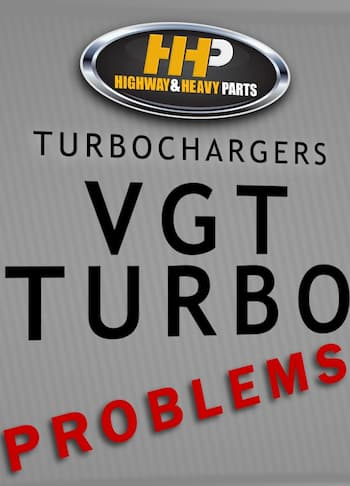 hhp turbo problems | Highway & Heavy Parts