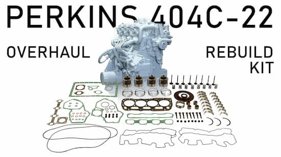 perkins 404c 22 overhaul rebuild kit | Highway & Heavy Parts