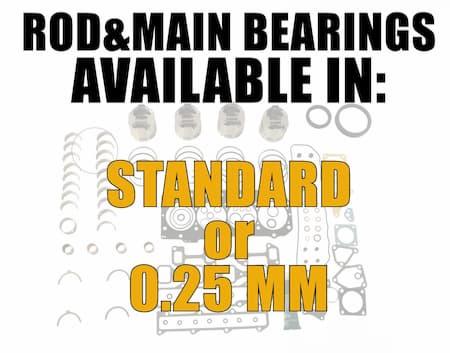 yanmar 4tne88 rod and main bearings | Highway & Heavy Parts