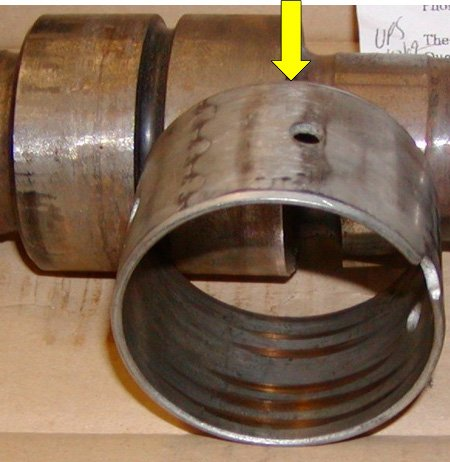 Bearing Wear Caused by Improper Support