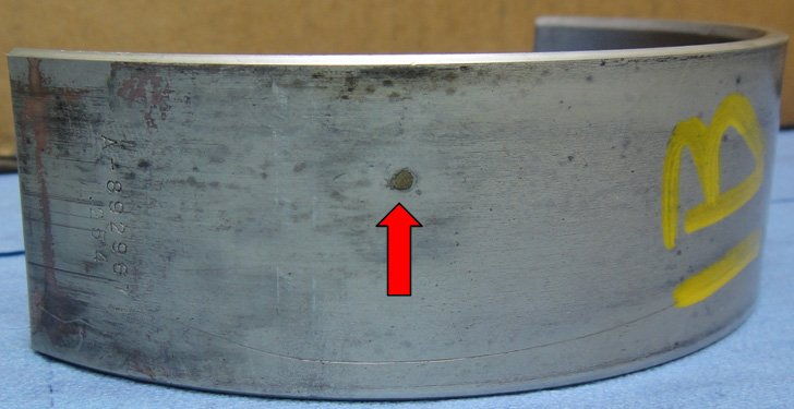 Main Bearing Failure Foreign Material | Highway & Heavy Parts