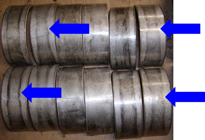 Rod Bearing Failure support component wear   Highway & Heavy Parts