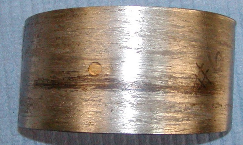 Rod Bearing Failure Lack of Lubrication   Highway & Heavy Parts