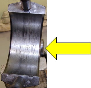 Rod Bearing Failure connecting rod | Highway & Heavy Parts