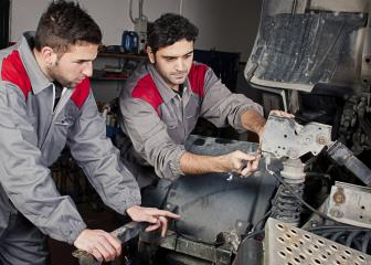 Two Repair Technicians