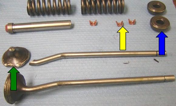 valve keeper retainer failure analysis