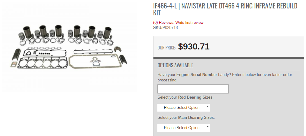 Highway and Heavy Parts | Inputting Your Navistar ESN When Buying a Part