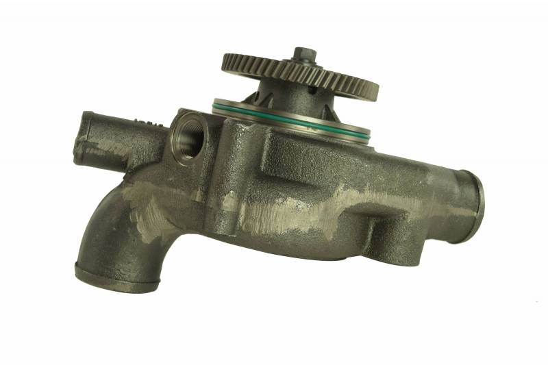 how to change water pump on detroit diesel