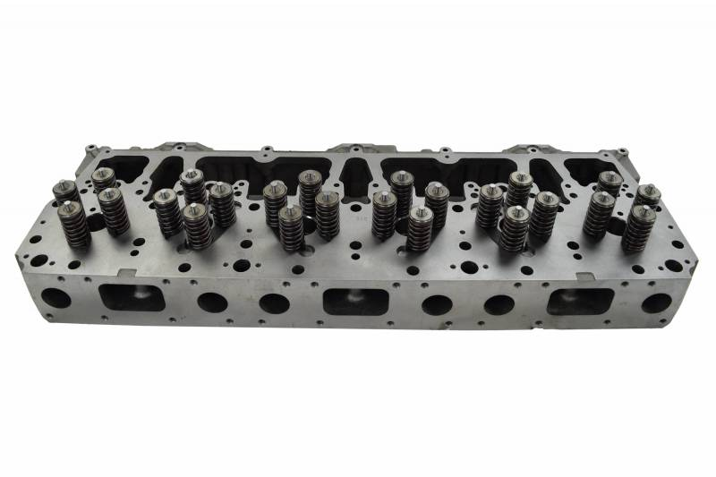 CATERPILLAR C10/C12 CYLINDER HEAD WITH VALVES, NEW | Highway & Heavy Parts