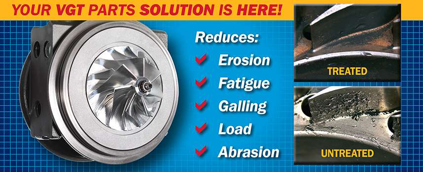 Your VGT Parts Solution is Here!