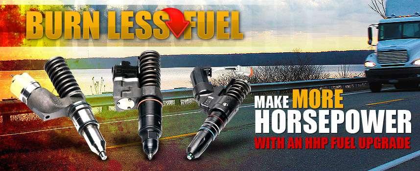Burn Less Fuel